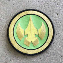 Power Morphicon 2018 Power Rangers Lord Drakkon Logo Patch