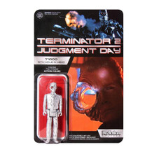 Terminator 2 - Super7 ReAction Figure  - T1000 (with hole in head)