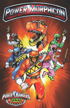 Power Morphicon Dino Charge Print
