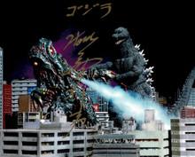 Tsutomu Kitagawa Godzilla VS Hedorah Japan World Heroes 2019 Signed Photo J