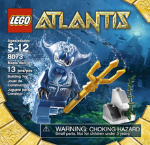 LEGO 8073 Atlantis Manta Warrior MISB