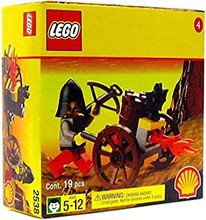 LEGO Castle Fright Knights Fire Cart 2538