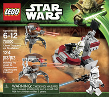LEGO Star Wars Clone Troopers vs Droidekas 75000