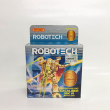 Robotech Matchbox Excalibur VI Battloid Destroid Macross Dark Tan