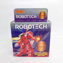 Robotech Matchbox Gladiator Battloid Destroid Macross Red