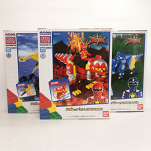 Bakuryū Sentai Abaranger Power Rangers Dino Thunder Megablocks Set of Three