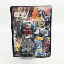 Knock Off Chrome MMPR Megazord Steel Beastgod Taiwan