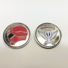 Power Morphicon 2014 Power Rangers Super Megaforce Convention Coin Platnium