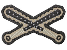 Crossed Kanabo - Morale Patch