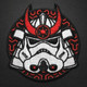 Samurai Trooper - Morale Patch