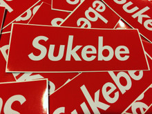 Sukebe - Sticker