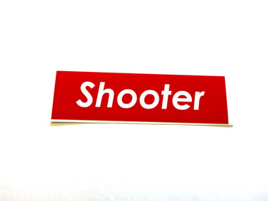 Shooter - Sticker