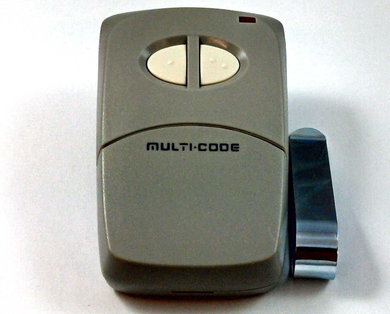 Multi-Code Compatible 300MCD21V2 10 Code Switch 300MHz Gate Garage Door Remote