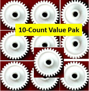 10-pack LiftMaster Drive Gears for 41C4220A or 41A2817 garage door openers