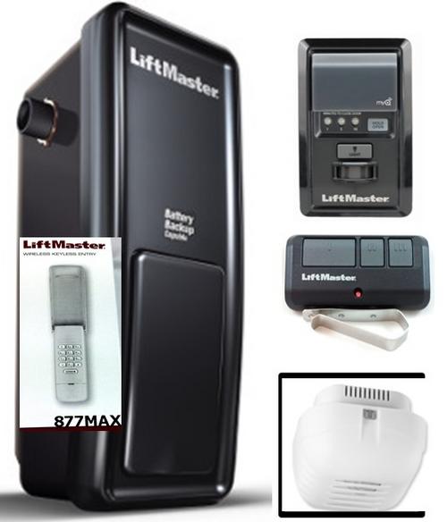 8500 and 877MAX LiftMaster garage door opener