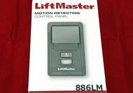 886LM LiftMaster Motion Detecting Multi-function Wall Control Security 2.0