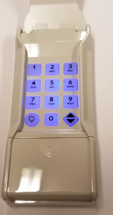 MDTK Linear MegaCode Keyless entry garage door opener control 318mhz