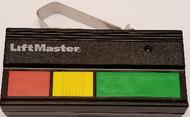 Liftmaster Garage Door opener 33LM 3-Button Open/Close/Stop Remote Control 390Mhz