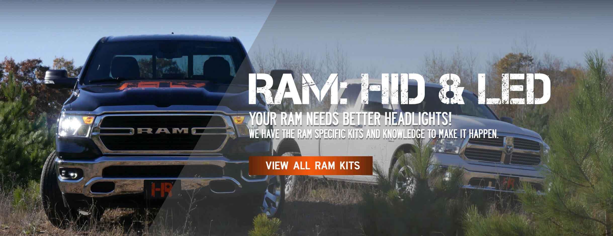 Ram Headlight Upgrades
