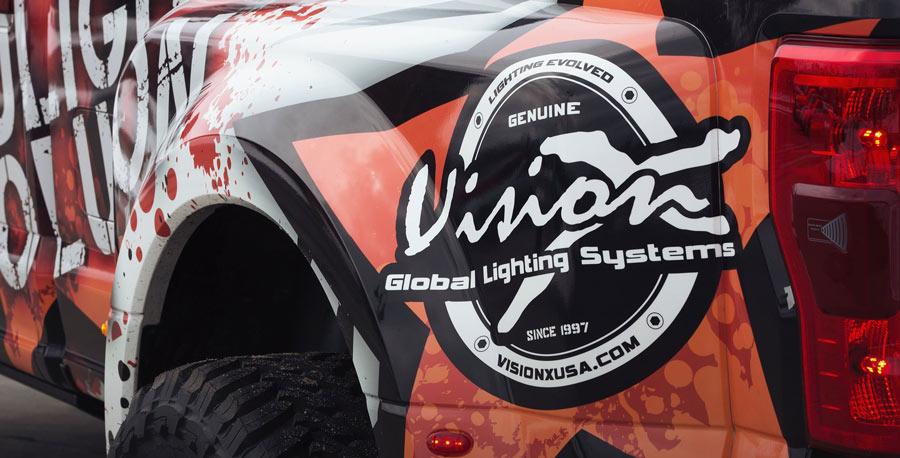Vision X at Headlight Revolution