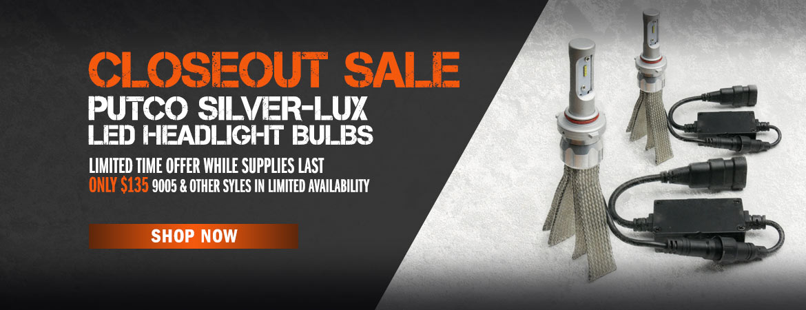 Putco Silver-Lux Closeout Sale! Now Only $135