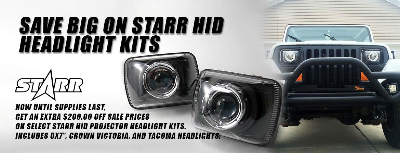 STARR HID Headlight Sale