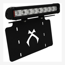 """Vision X LICENSE PLATE BRACKET WITH 12"""" LOW PROFILE XTREME LIGHT BAR"""