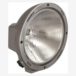 """Vision X 8.7"""" ROUND CHROME 35 WATT HID EURO LAMP"""