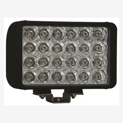 """Vision X 8"""" XMITTER DOUBLE BAR BLACK 24 3W LED'S EURO"""