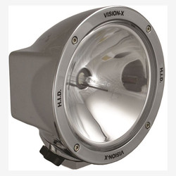 "Vision X 6.7"" ROUND CHROME 50 WATT HID SPOT LAMP"