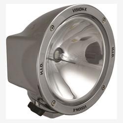 "Vision X 6.7"" ROUND CHROME 35 WATT HID SPOT LAMP"