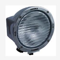 "Vision X 6.7"" ROUND CHROME 35 WATT HID FLOOD LAMP"
