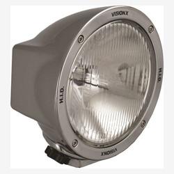 """Vision X 6.7"""" ROUND CHROME 35 WATT HID EURO LAMP"""