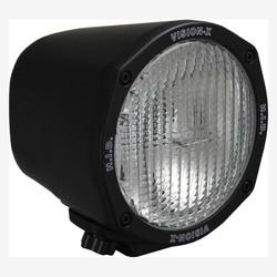 "Vision X 5"" ROUND BLACK 35 WATT HID FLOOD LAMP"