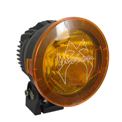 """Vision X 4.72"""" CANNON LIGHT POLYCARBONATE COVER YELLOW"""
