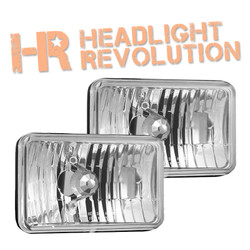 "Vision X 4x6"" Headlight Housing [H4651/H4656]"
