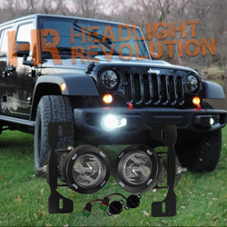 Vision X 13-15 JEEP JK X FOG LIGHT KIT WITH XIL-OPR120