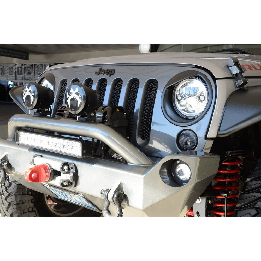 Vision X 13 15 Jeep Jk Fog Light Kit With Xil Opr110 H16 2504 Ps24w Adapter For Lights Drl Relay Wiring Harness Ebay