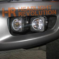 Vision X 10-13 FORD RAPTOR FOG LIGHT BRACKET WITH XIL-OP110