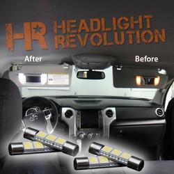 2007 - 2018 Toyota Tundra LED Vanity Light Bulbs Upgrade
