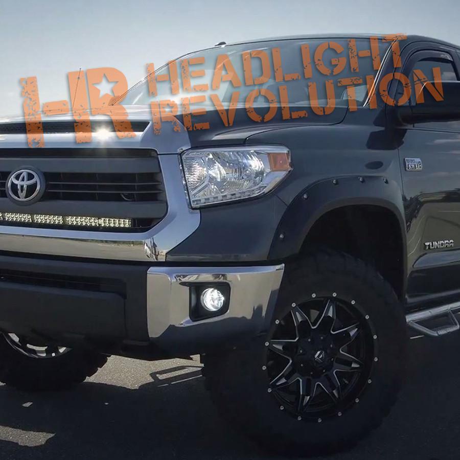 2014 2017 Toyota Tundra Led Front Blinkers Kit Headlight Revolution Flashing Circuit P Marian Flashers Vehicle Specific