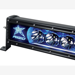 """Rigid Industries 220013 20"""" Radiance Backlight Light Bar; Blue"""