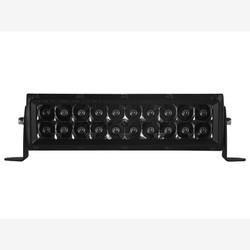 "Rigid Industries 110213BLK E-Series Midnight Edition Black 10"" Spot Optic Light Bar"