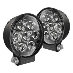 """JW Speaker Model TS3001R Driving Beam LED 6"""" Auxiliary Lights, DOT 2 Light Kit"""