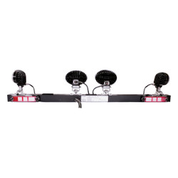JW Speaker Model MB735 - 12V SAE LED Light Bar with no Strobe Lights