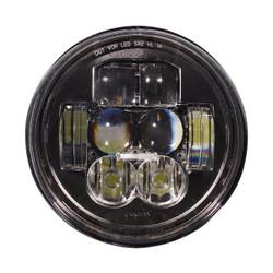 "JW Speaker Model 8630 Evolution RHT DOT 5.75"" Round Headlight - WITHOUT HALO"
