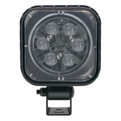JW Speaker Model 840 XD 12-24V LED Work Light with Trapezoid Beam Pattern