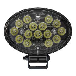 JW Speaker Model 7150 - 12-24V LED Work Light with Polycarbonate Lens & Spot Beam Pattern