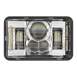 "JW Speaker 8800 Evolution-2 LED 4x6"" Low Beam Headlight Heated - Chrome"