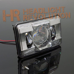 "JW Speaker 8800 Evolution-2 LED 4x6"" High Beam Headlight - Chrome"